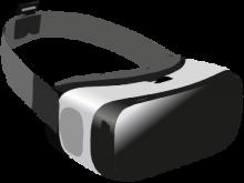 Headset zum Entdecken virtueller Realitäten