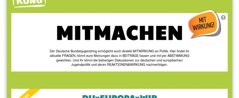 """Screenshot ePartool-Header beim Projekt """"Werkstatt Mitwirkung"""""""