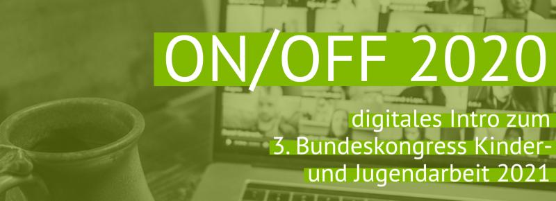 ON/OFF 2020 - Logo der Online-Konferenz